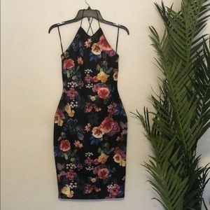 Insterglam Bodycon Floral Dress
